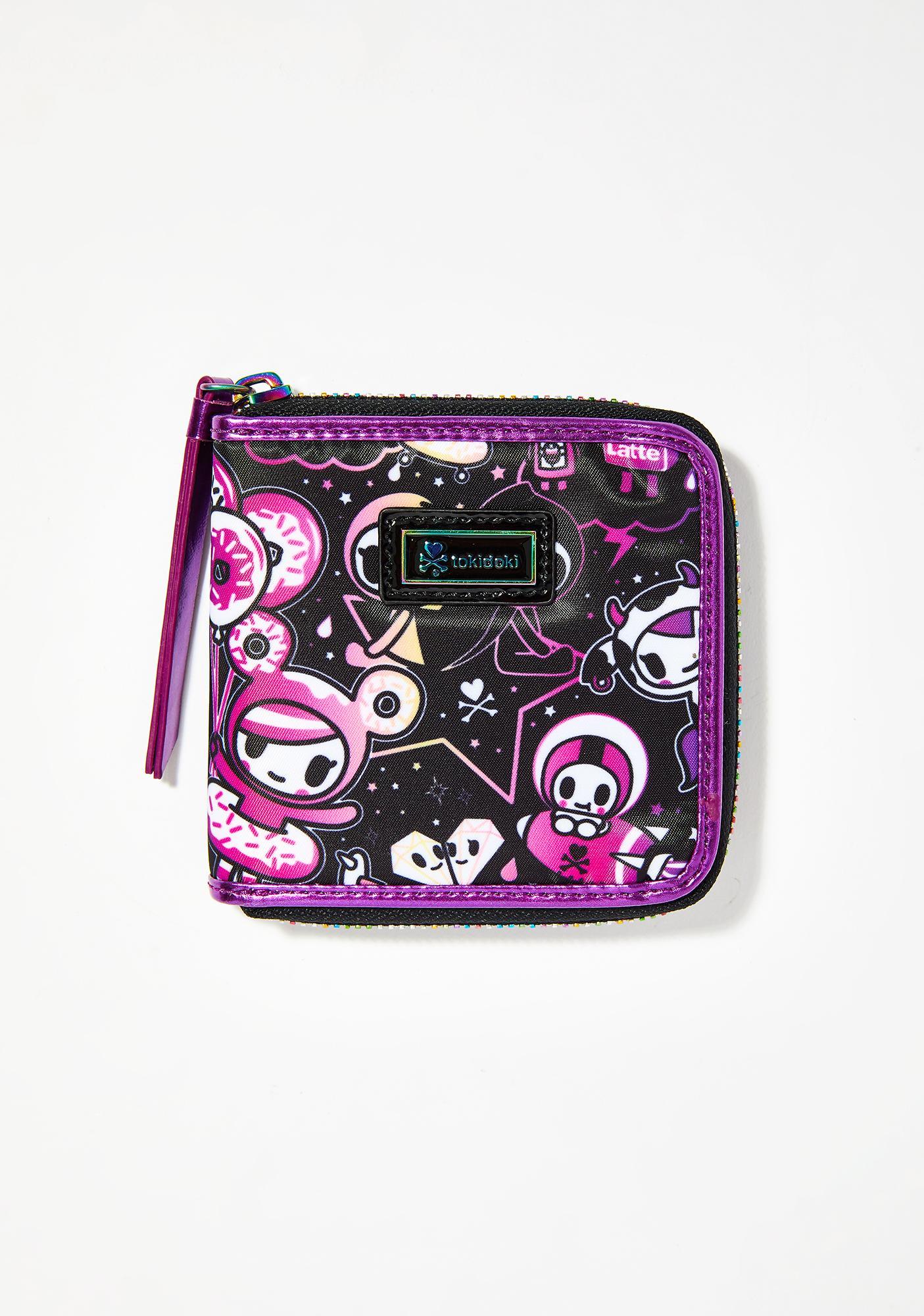 Tokidoki Galactic Dreams Small Zip Around Wallet