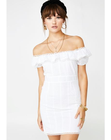 Shy Moment Off Shoulder Dress