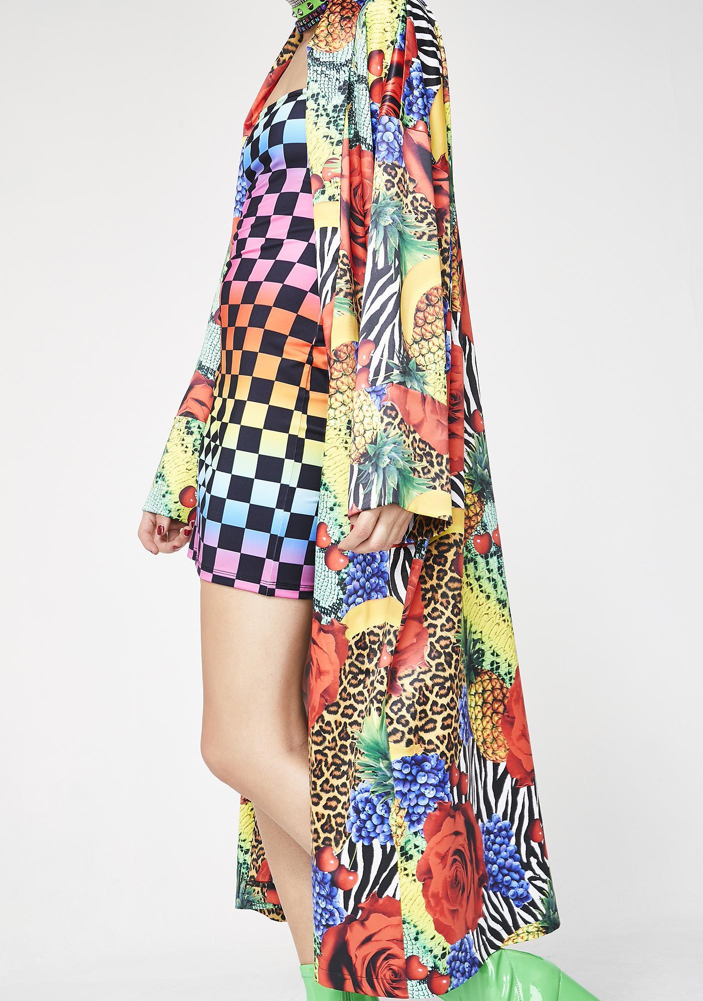 Jaded London Oversized Kimono
