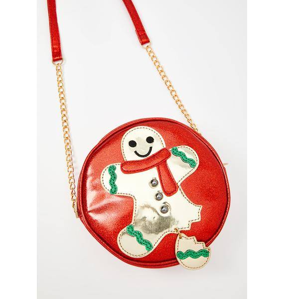 Let's Get This Gingerbread Crossbody