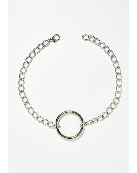 Chain O-Ring Choker