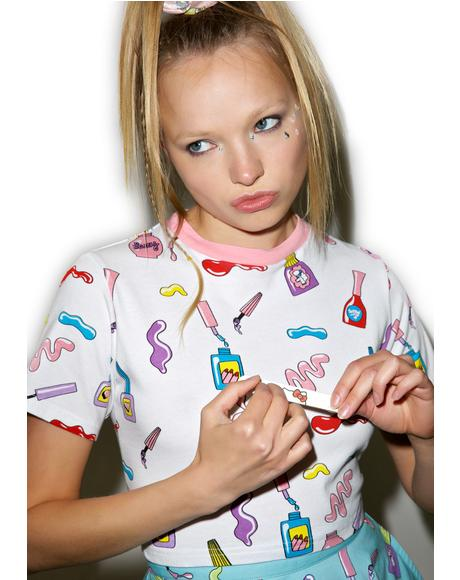 Nail Art T-Shirt