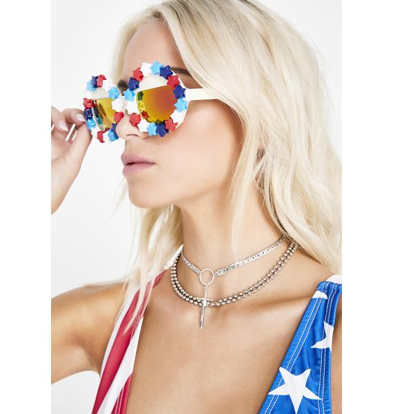 Rad and Refined Freedom Sunglasses