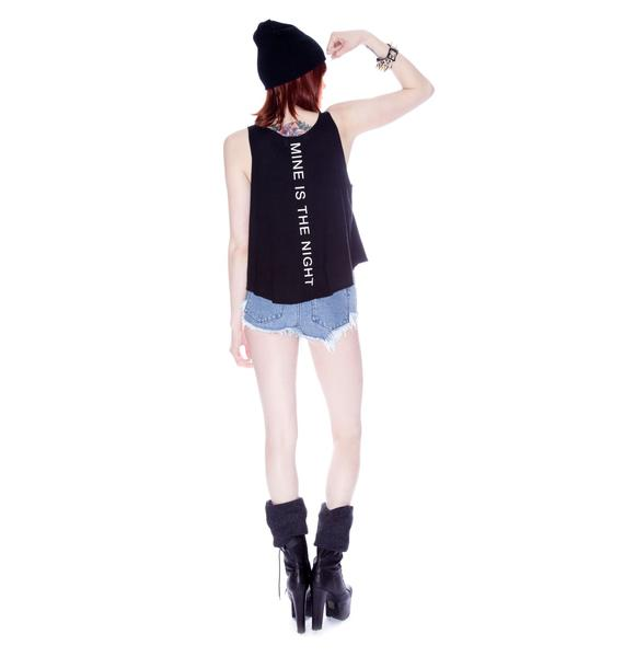 Wildfox Couture Mine Is The Night Cassidy Tank