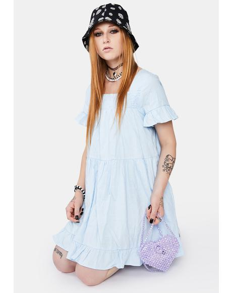 A Sure Thing Babydoll Dress