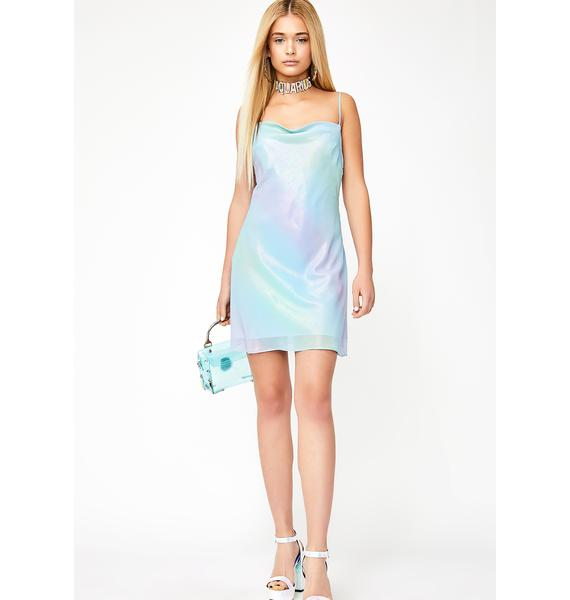 HOROSCOPEZ Stardust Aura Birthday Girl Dress