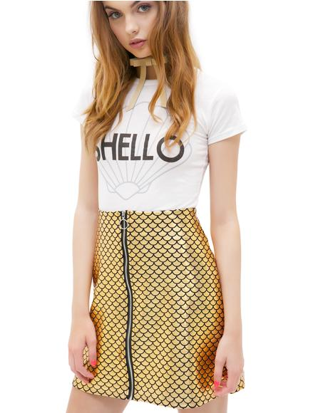 Mermaid Disco Skirt