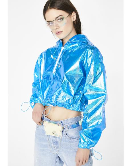 Cobalt Electric Slide Iridescent Jacket