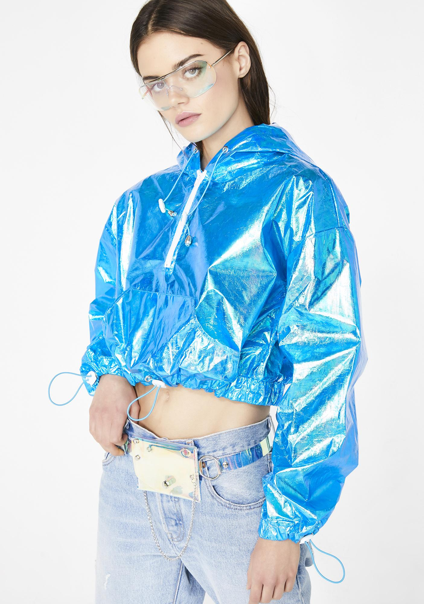 Cobalt Electric Slide Iridescent Jacket