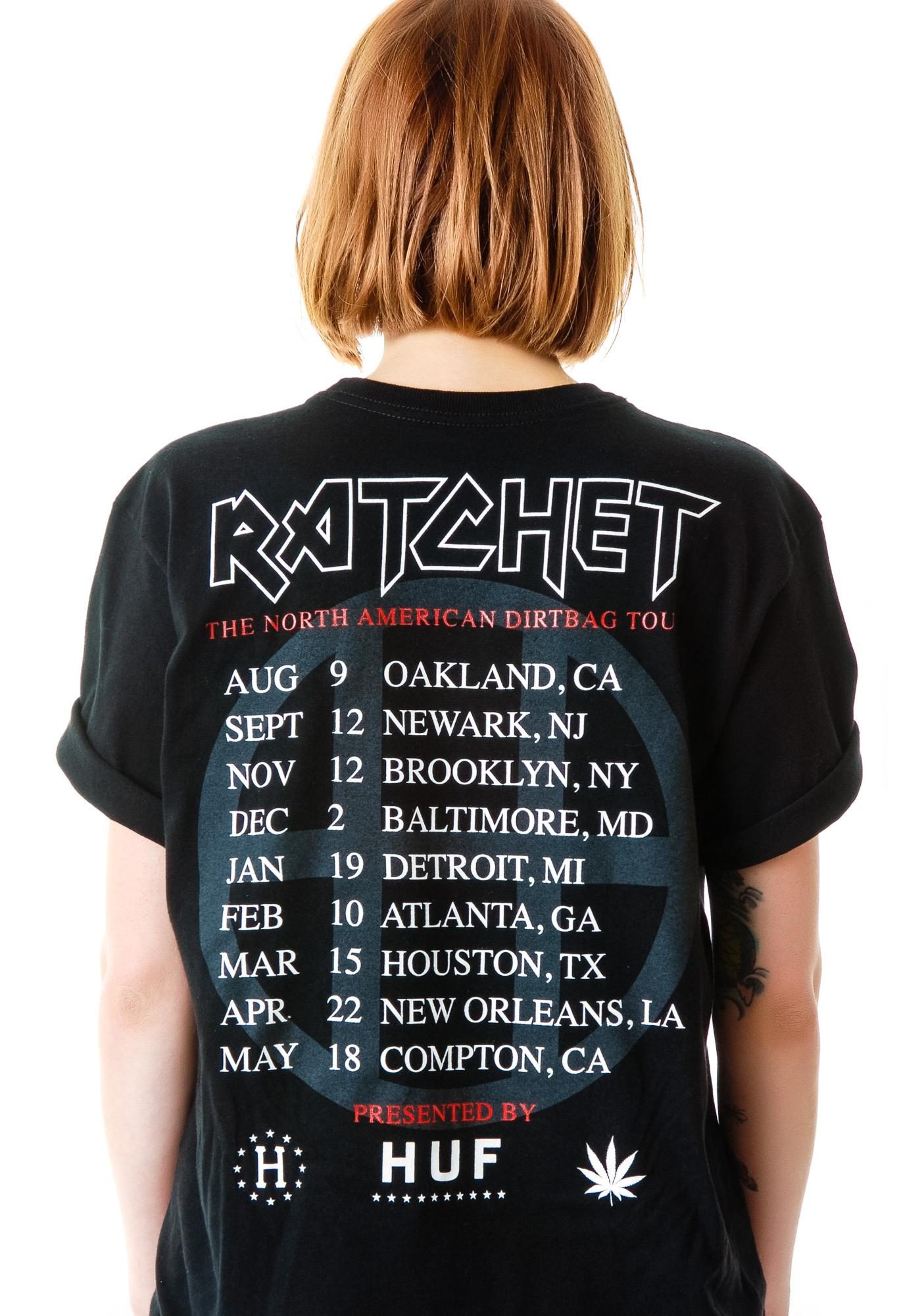 HUF Ratchet Tour Tee