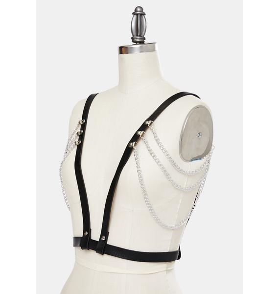 Ur My Hero Chain Embellished Harness