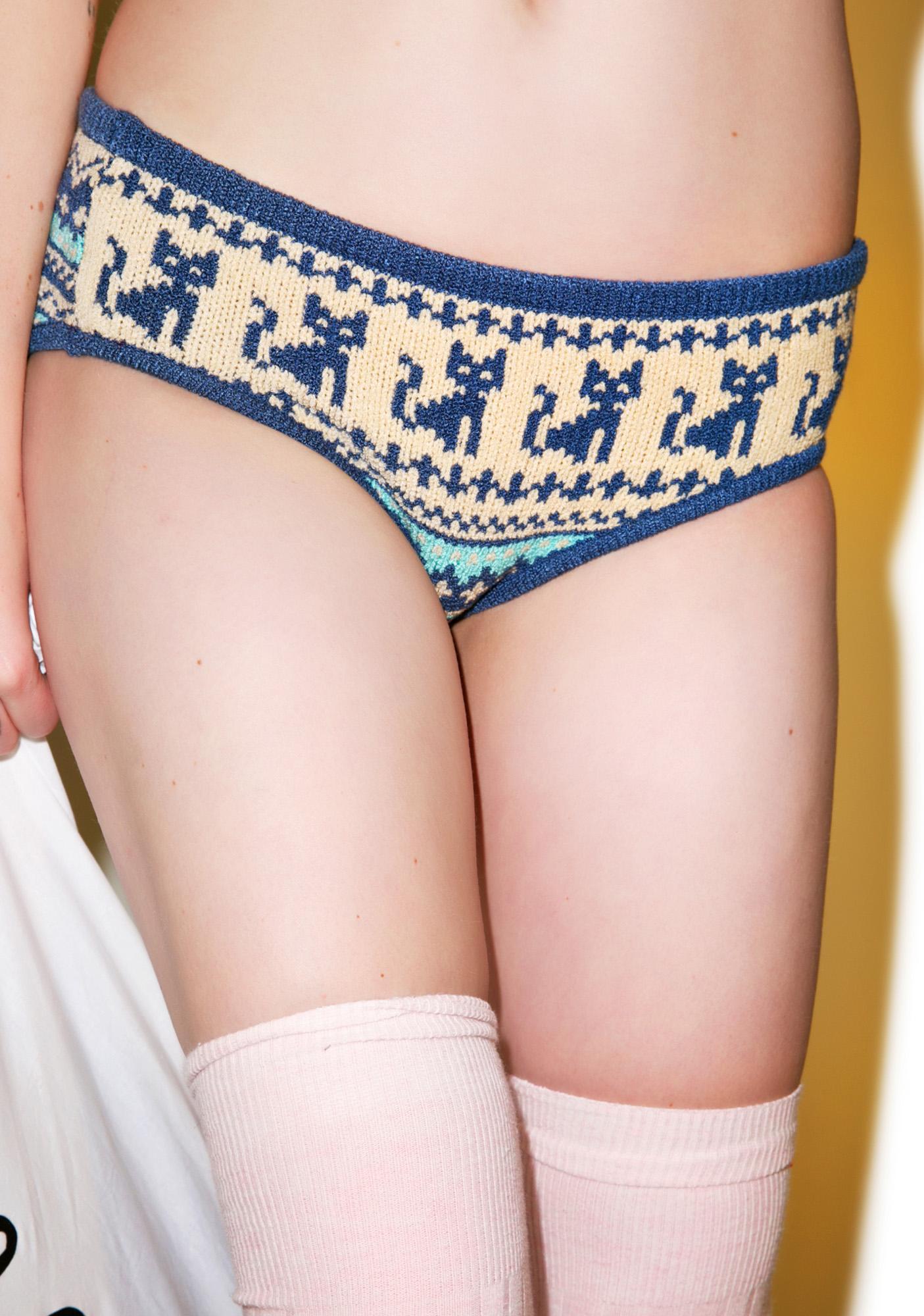 Knitty Kitty Kitty Corner Panty