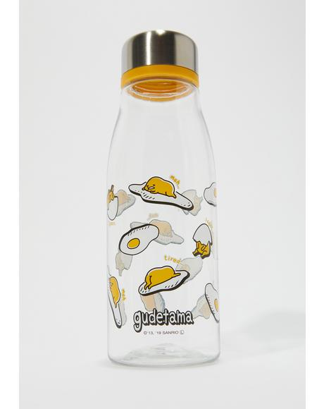 Over Easy Gudetama Water Bottle