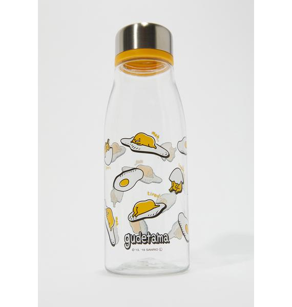Over Easy Gudetama Water Bottle