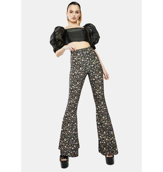 Selkie The Spirit Floral Bell Bottoms