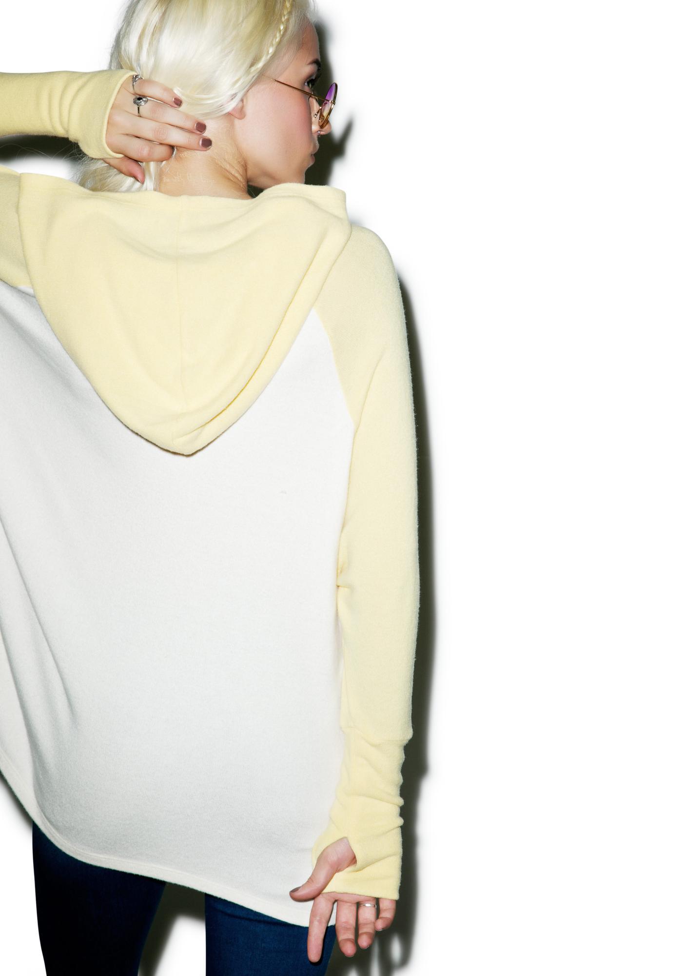Lauren Moshi Lonnie Oversized Raglan