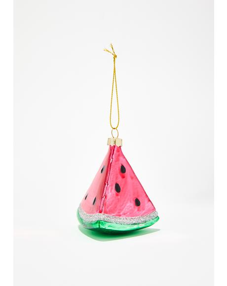 So Juicy Watermelon Ornament