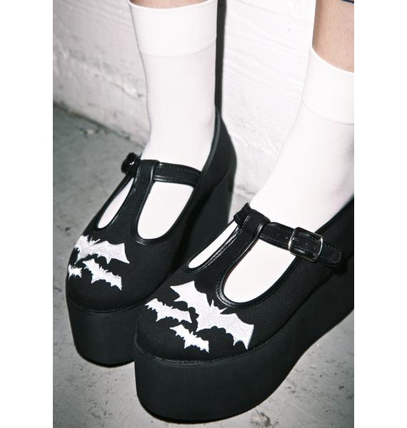 Demonia Scream Queen Flatform