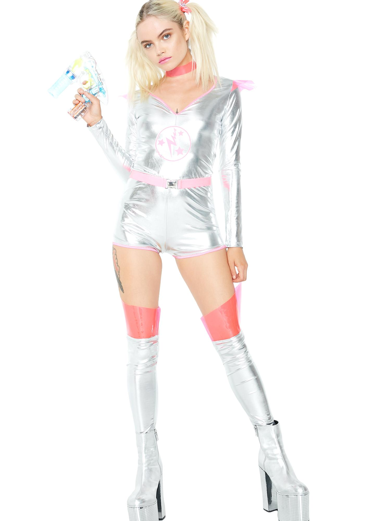 Dolls Kill 21st Century Grl Costume