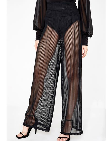Quick Flash Sheer Trousers