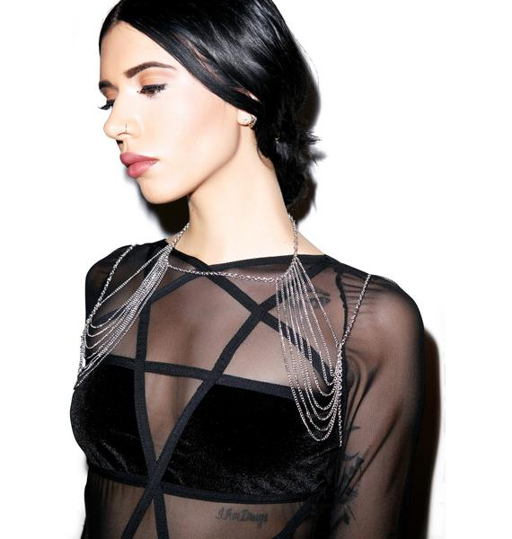 Cold Shoulder Body Chain