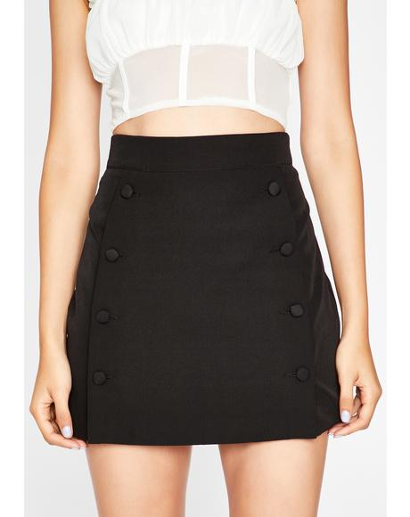 Sweet Talkin' Secretary Mini Skirt