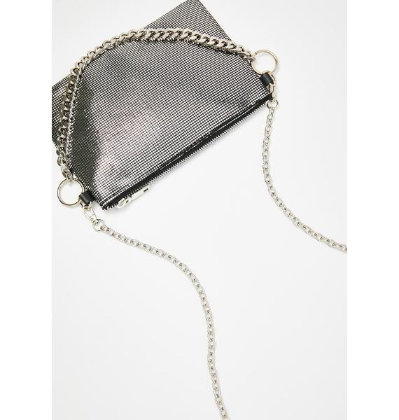 Chromatic Clout Chainmail Purse