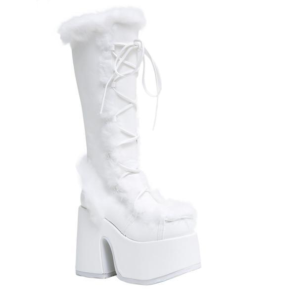 Demonia Pure Vigilance Platform Boots