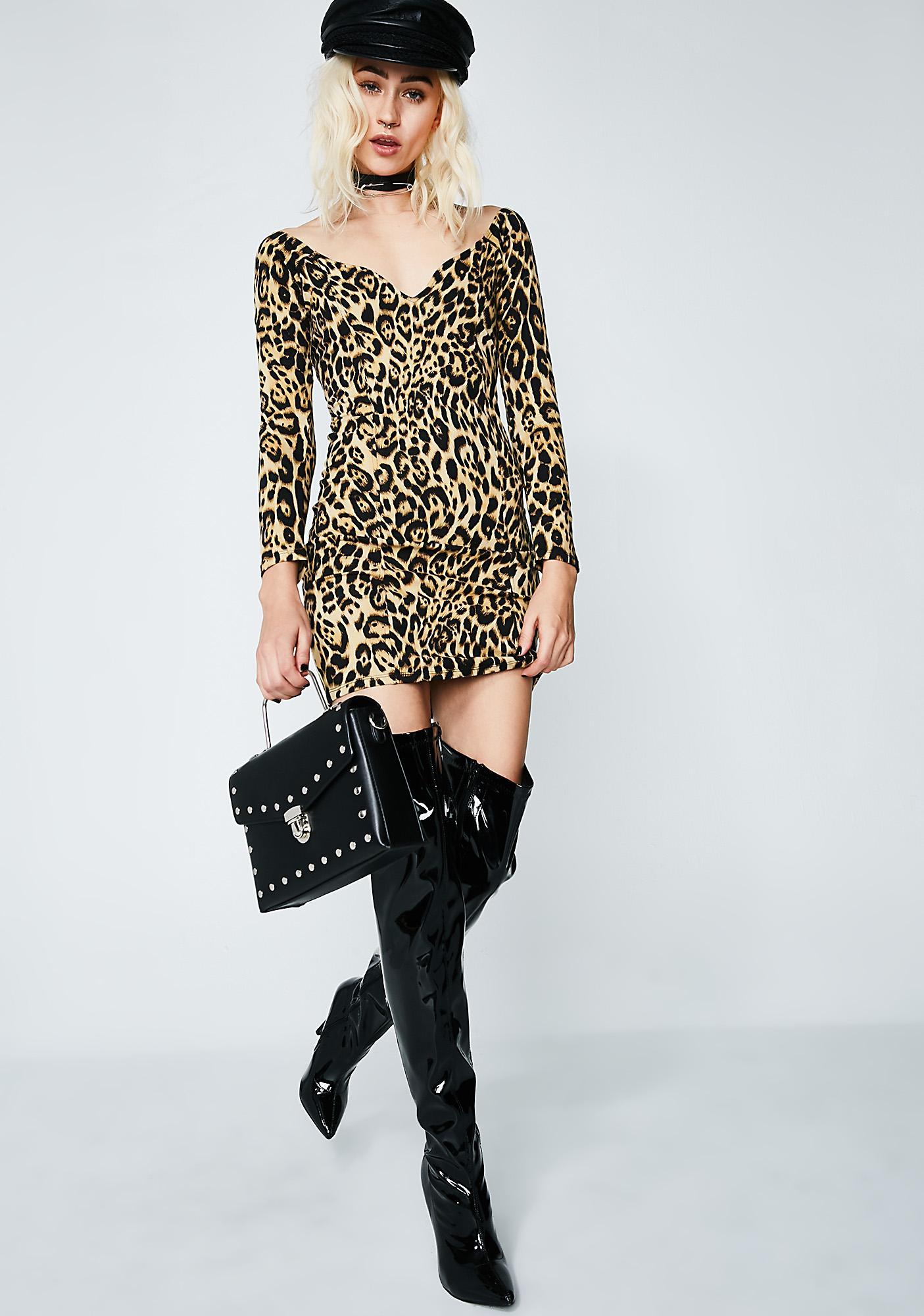 Motel Leopard Essense Dress