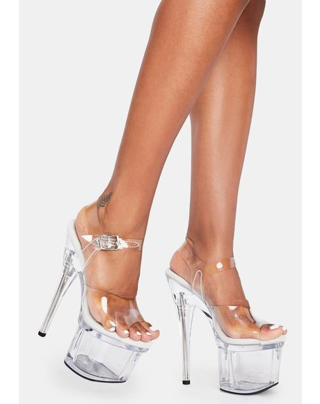 Love Language Platform Heels