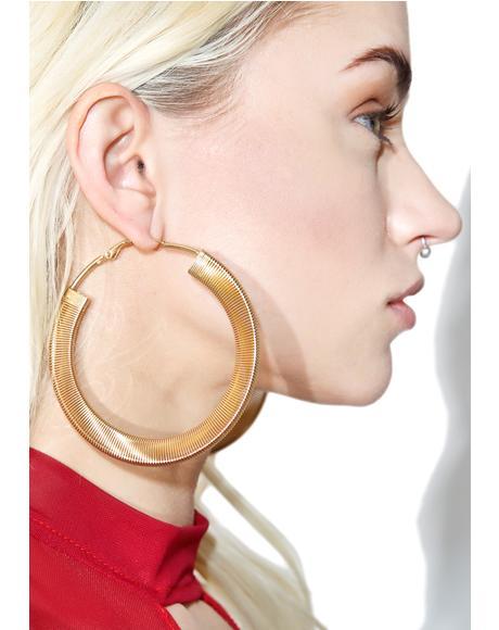 Get Down Hoop Earrings