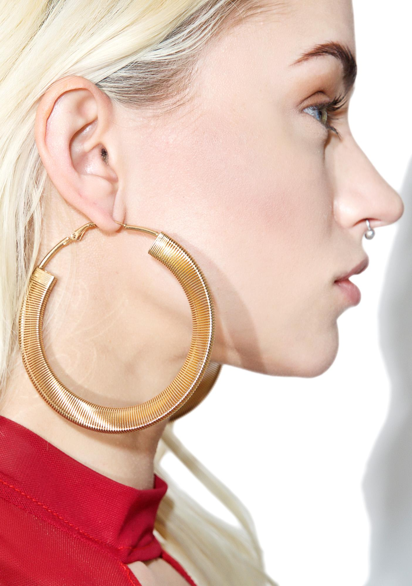 Get Down Hoop Earrings