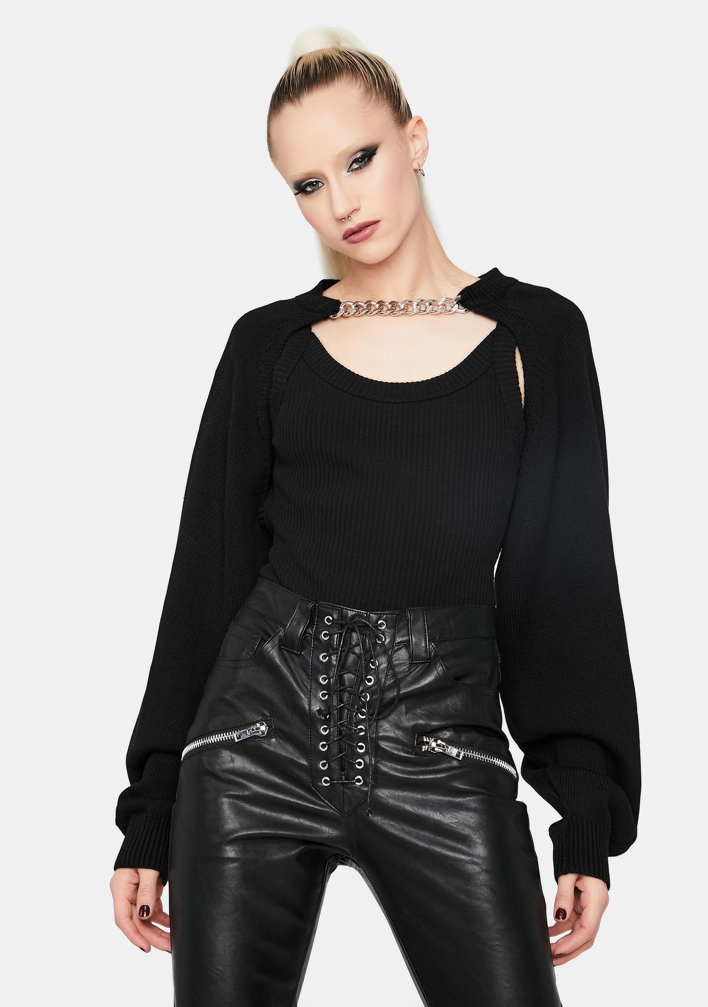 Dark Style Hype Chain Shrug