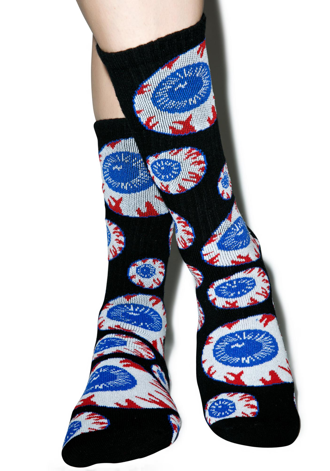 Mishka Heritage Keep Watch Pattern Socks