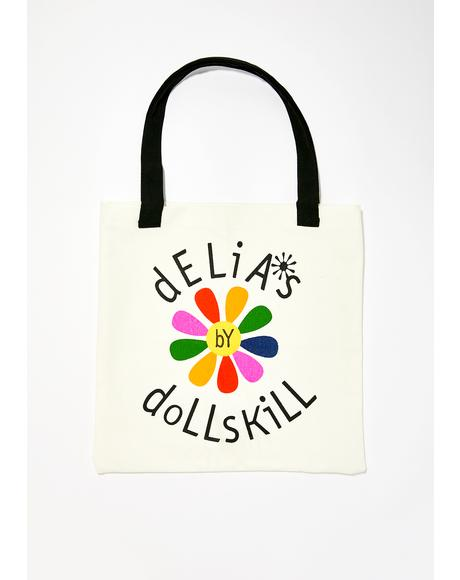 Life In Rainbows Tote Bag