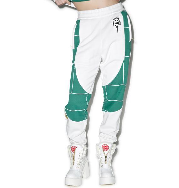 Joyrich X GIZA Tennis Court Sweat Pants