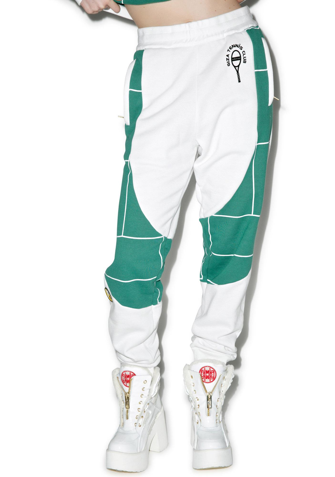 Joyrich X GIZA Tennis Court Sweat Pants