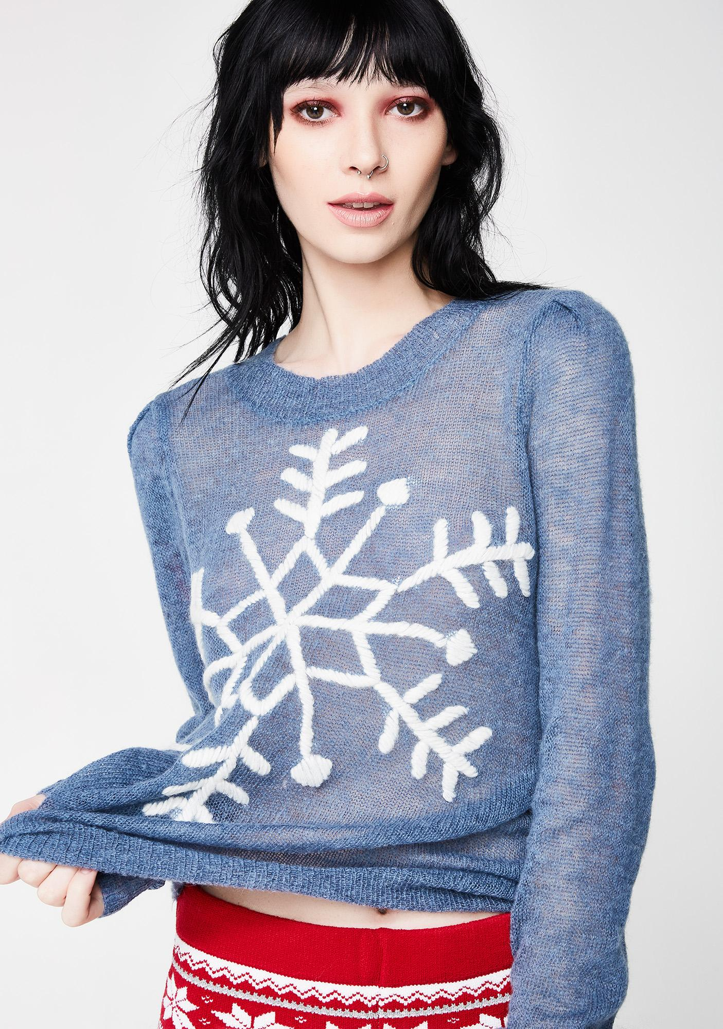 Wildfox Couture First Snow Lou Sweater