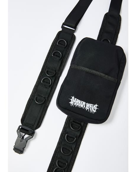 Snare D-Ring Strap Utility Crossbody Bag