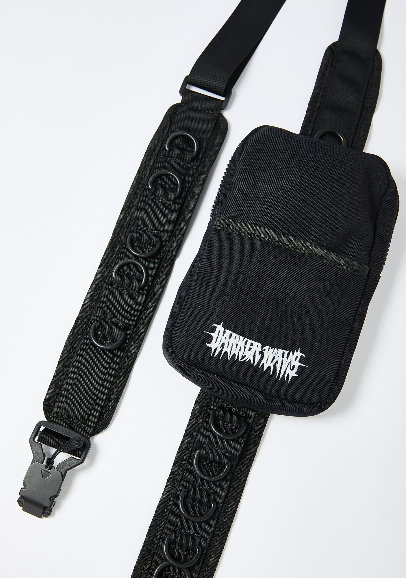 DARKER WAVS Snare D-Ring Strap Utility Crossbody Bag