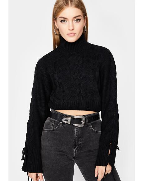 Read To Filth Turtleneck Sweater