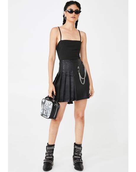 Black Penelope Bodysuit
