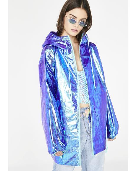 Galactic Grl Iridescent Jacket