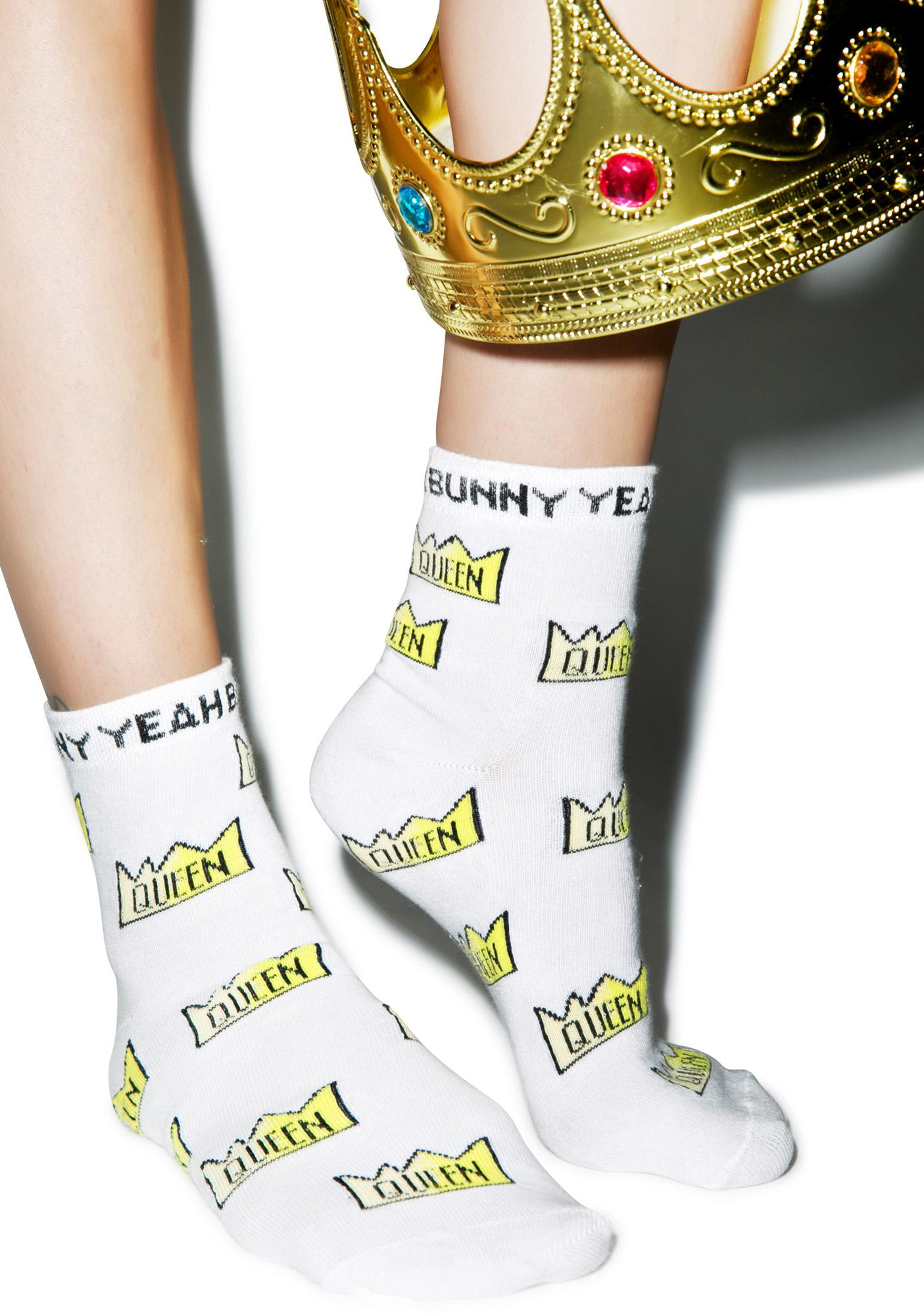 Yeah Bunny Queen Socks