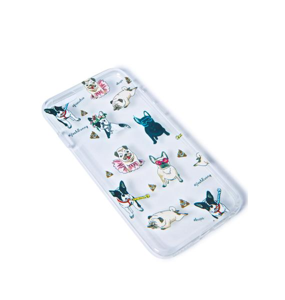 Yeah Bunny Pups N Poop iPhone 6 Case
