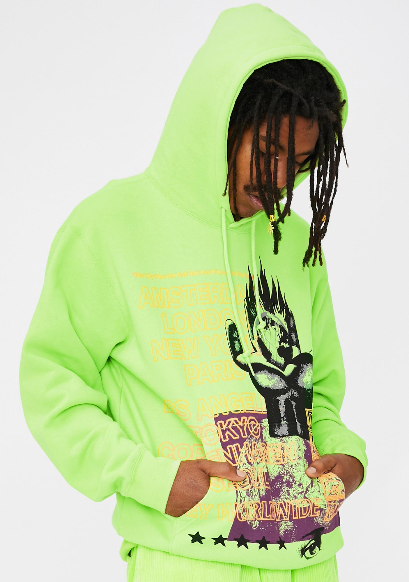 Obey Obey Our Planet Graphic Hoodie