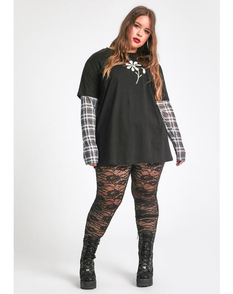 Love Spell On U Lace Leggings