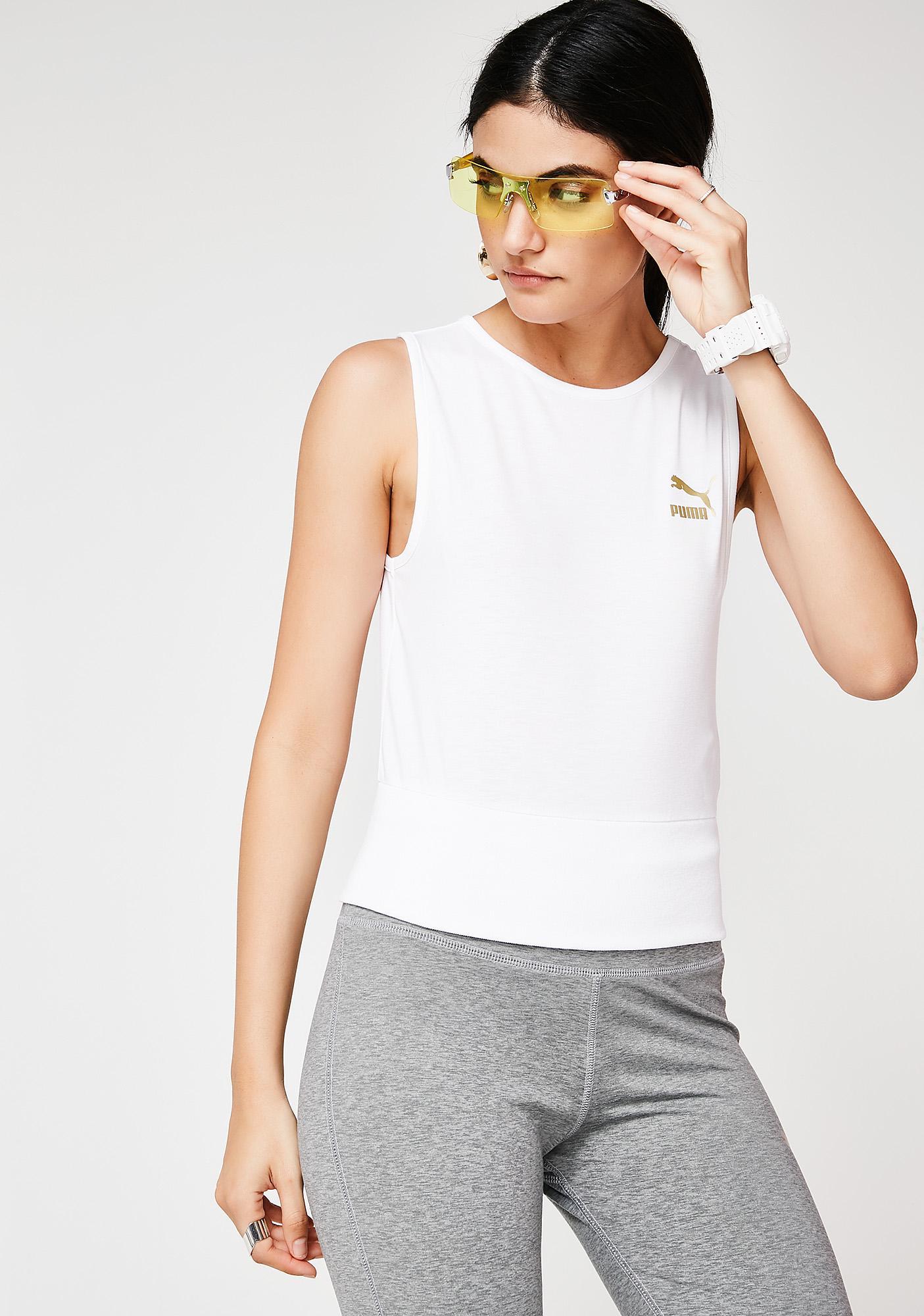 PUMA Fashion Crop Top