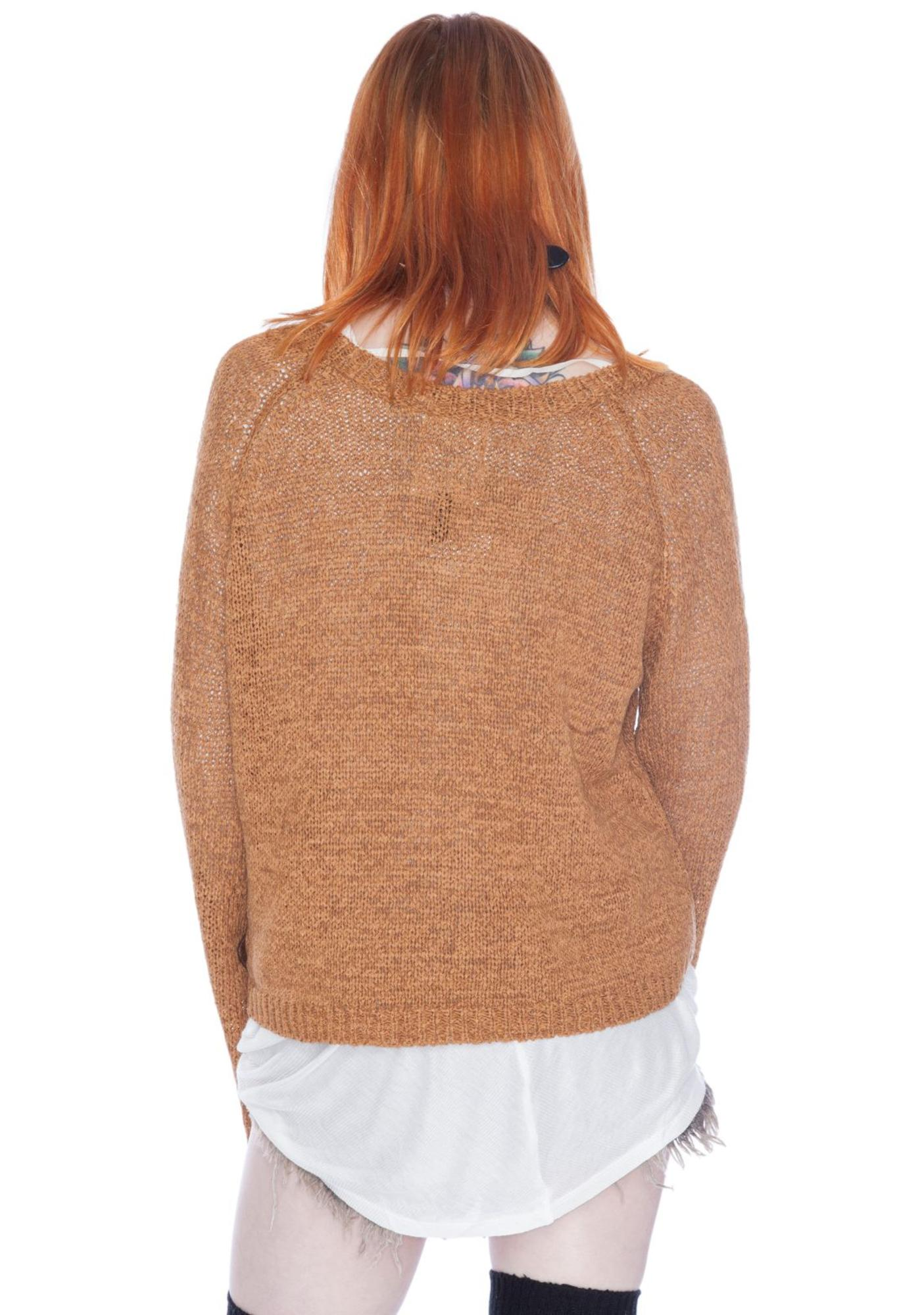 One Teaspoon Euphoria Knit Top