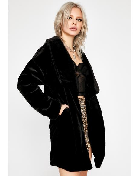 All Occasions Faux Fur Coat